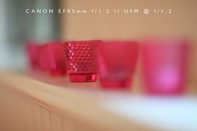 Canon EF85mm f/1.2 II USM Test