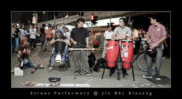 Street Performers @ Jln Bkt Bintang